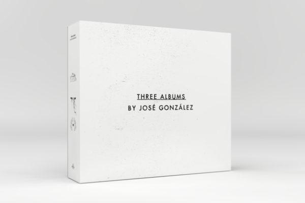 José González CD box design