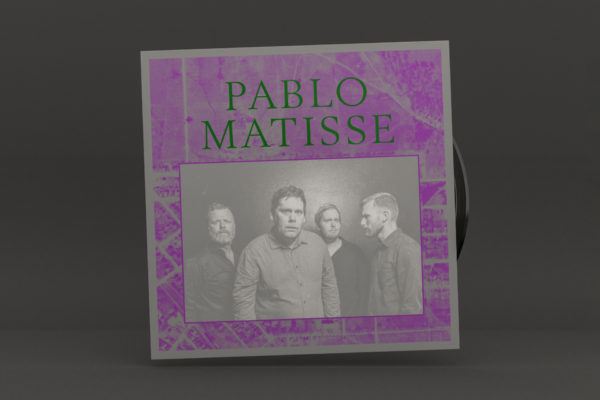 Pablo Matisse album packaging design