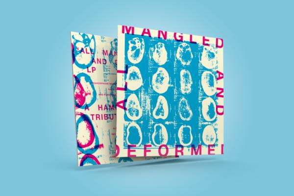 All Mangled And Deformed – album packaging design