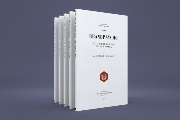 Brandpsycho – Book design